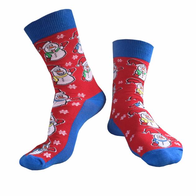 2152b3a967b Veselé pánské ponožky s vánočním motivem