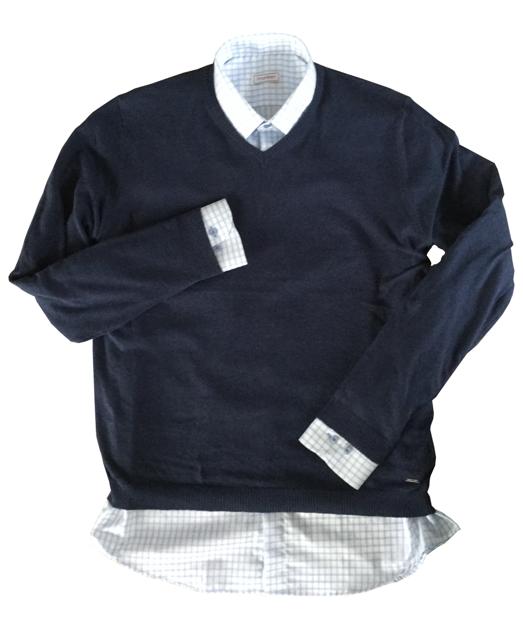 Pánské svetry na košili – Příručka nejen pro muže díl 1. 7f4276c84a