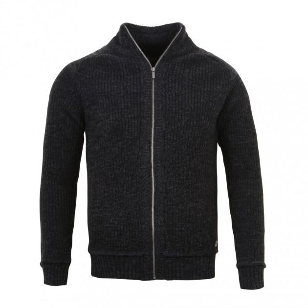 Teplý pánský svetr na zip  c387091fb1