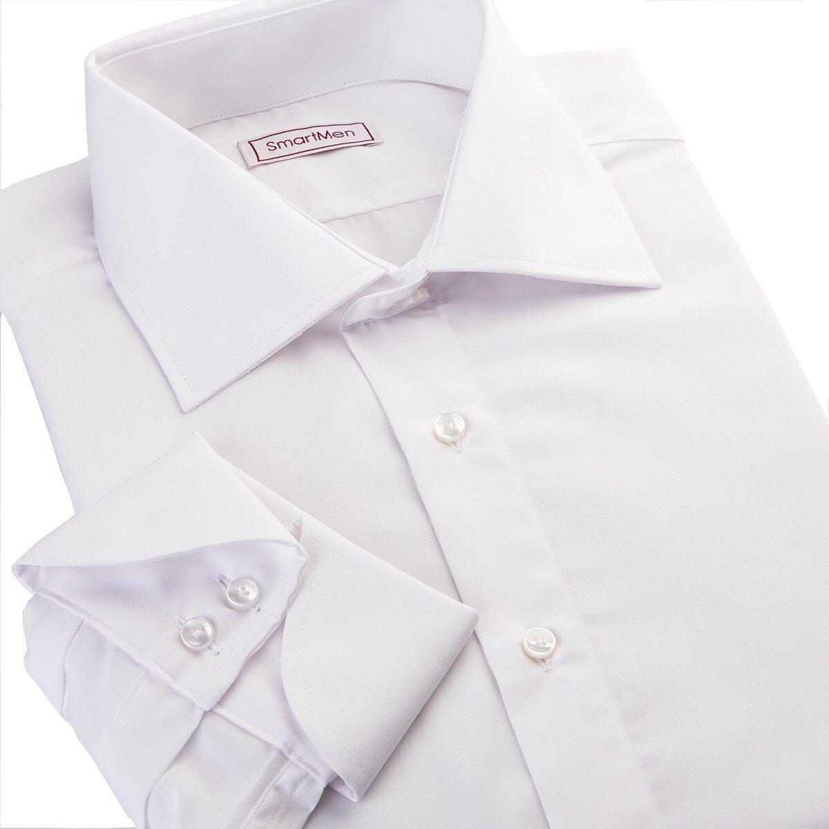 Bílá pánská košile Non Iron James Bond 2f3be93ead
