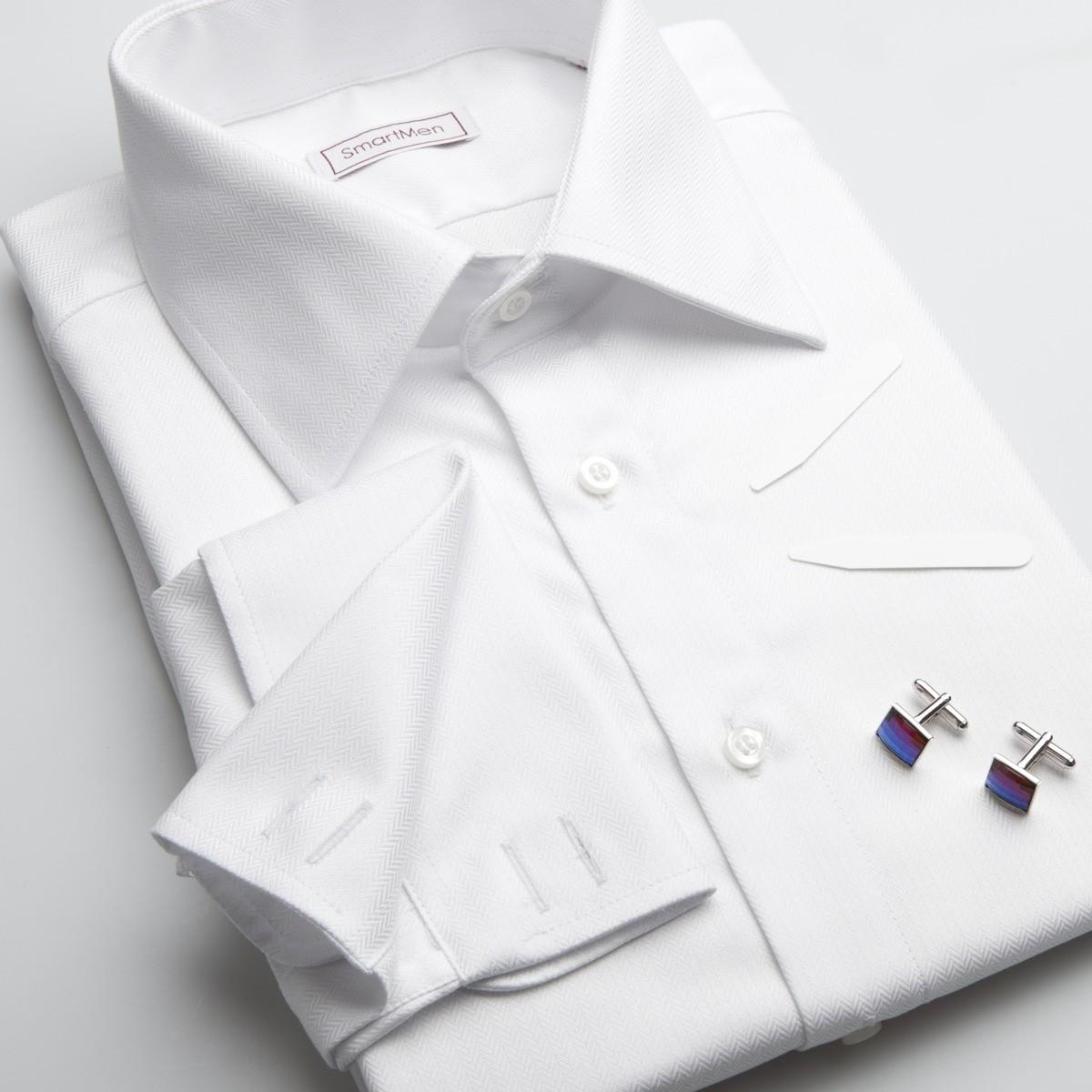 Pánská luxusní košile bílá na manžetové knoflíčky 0feb1bea64
