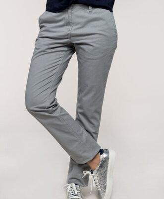 41f864873091 Dámské kalhoty chino bavlna s elastanem