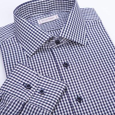 Moderní Smart casual košile s dlouhým rukávem  af83c8b863