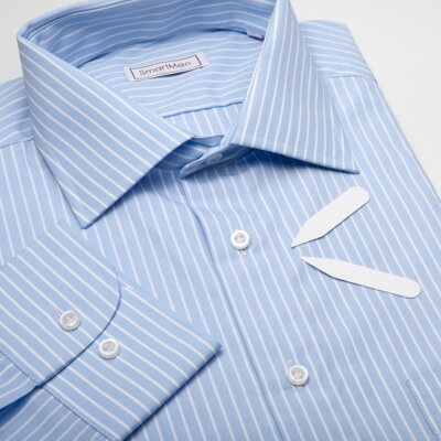 Pánská modrá košile Business do obleku  ecb02767de