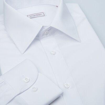 Čistě bílá košile pánská dlouhý rukáv Non Iron 95e7cc5c56