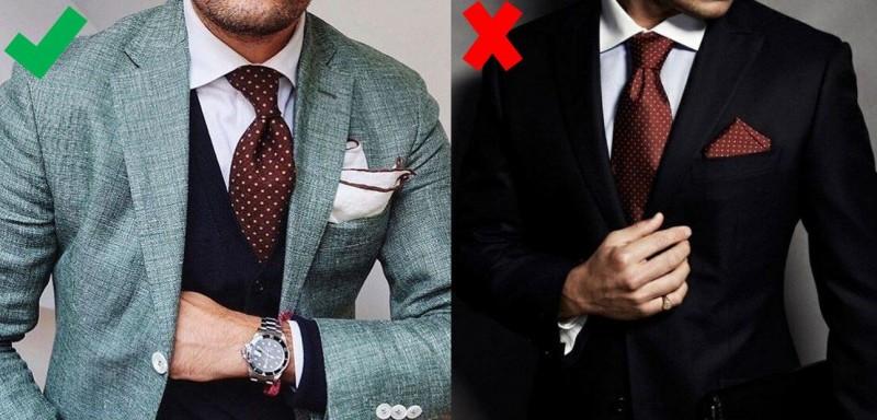 5af7d21df0f SmartMen  Jak sladit kravatu s kapesníčkem do saka