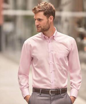 Pánská košile Button-down dlouhý rukáv Easy Care 31bda82b991