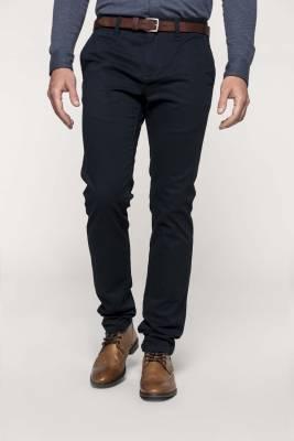 Pánské kalhoty chino bavlna s elastanem a30bbb3a364